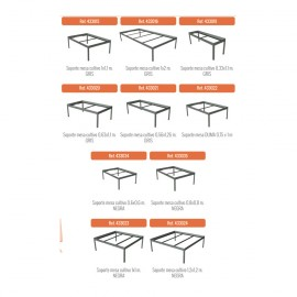 Soporte para mesas y bandejas